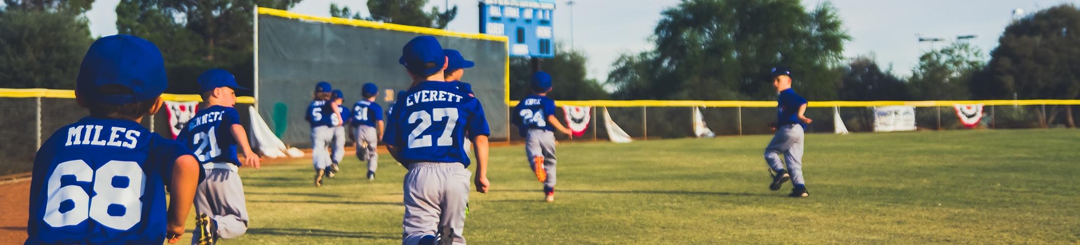 少年野球サイトのヘッダー画像