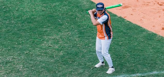 少年野球のコーチ