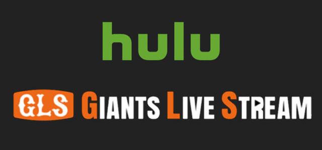 HuluのジャイアンツLIVEストリーム